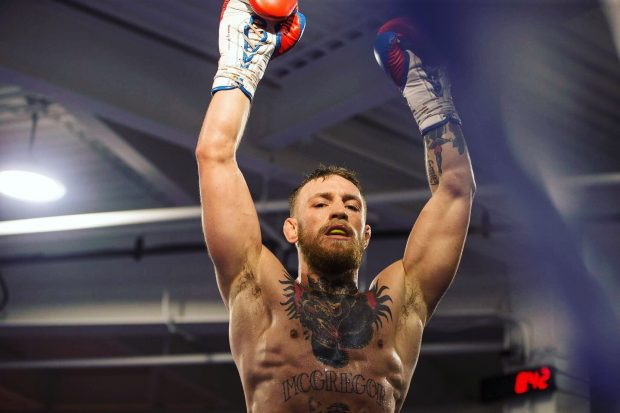 McGregor vai estrear no boxe (Foto:Reprodução/Twitter ConorMcGregor)
