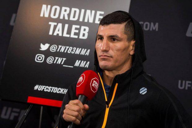 Taleb foi visto andando ao lado do craque brasileiro (Foto: Reprodução/Facebook UFC)