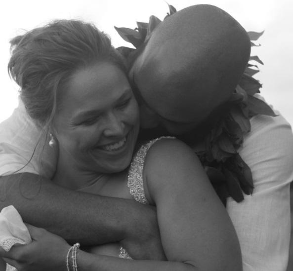 Ronda e Travis se conheceram na academia Glendale Fighting Club Foto: Reprodução Instagram rondarousey