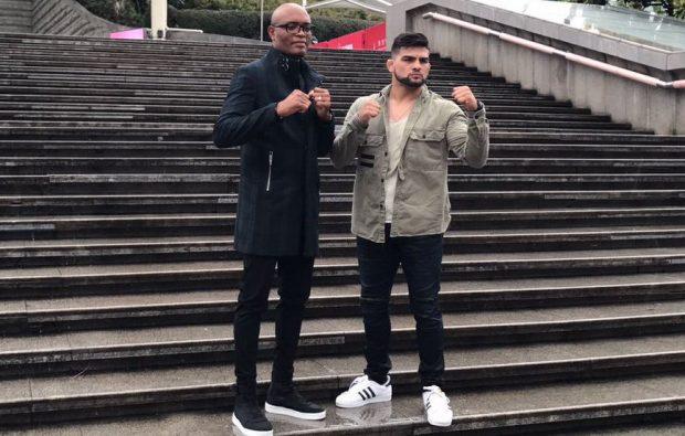 Anderson e Gastelum se enfrentam dia 25 de novembro (Foto: Reprodução/Twitter UFCBrasil)