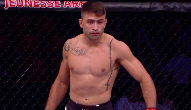 Chagas está fora do card do UFC São Paulo (Foto: Reprodução/Combateplay)