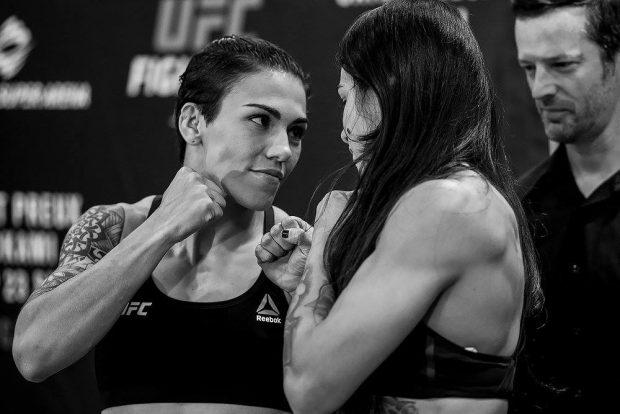 J. Andrade e C. Gadelha se enfrentam (Reprodução Facebook UFC)