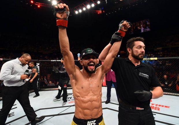 Deiveson já tem duas vitórias no UFC (Foto: Reprodução/Facebook UFC)