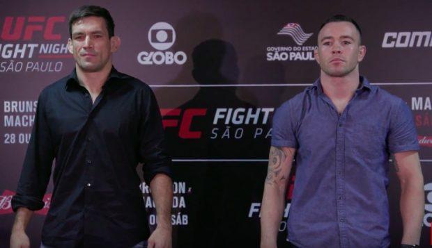 Demian e Covington fazem duelo de gerações (Foto:Reprodução/Youtube/UFC)
