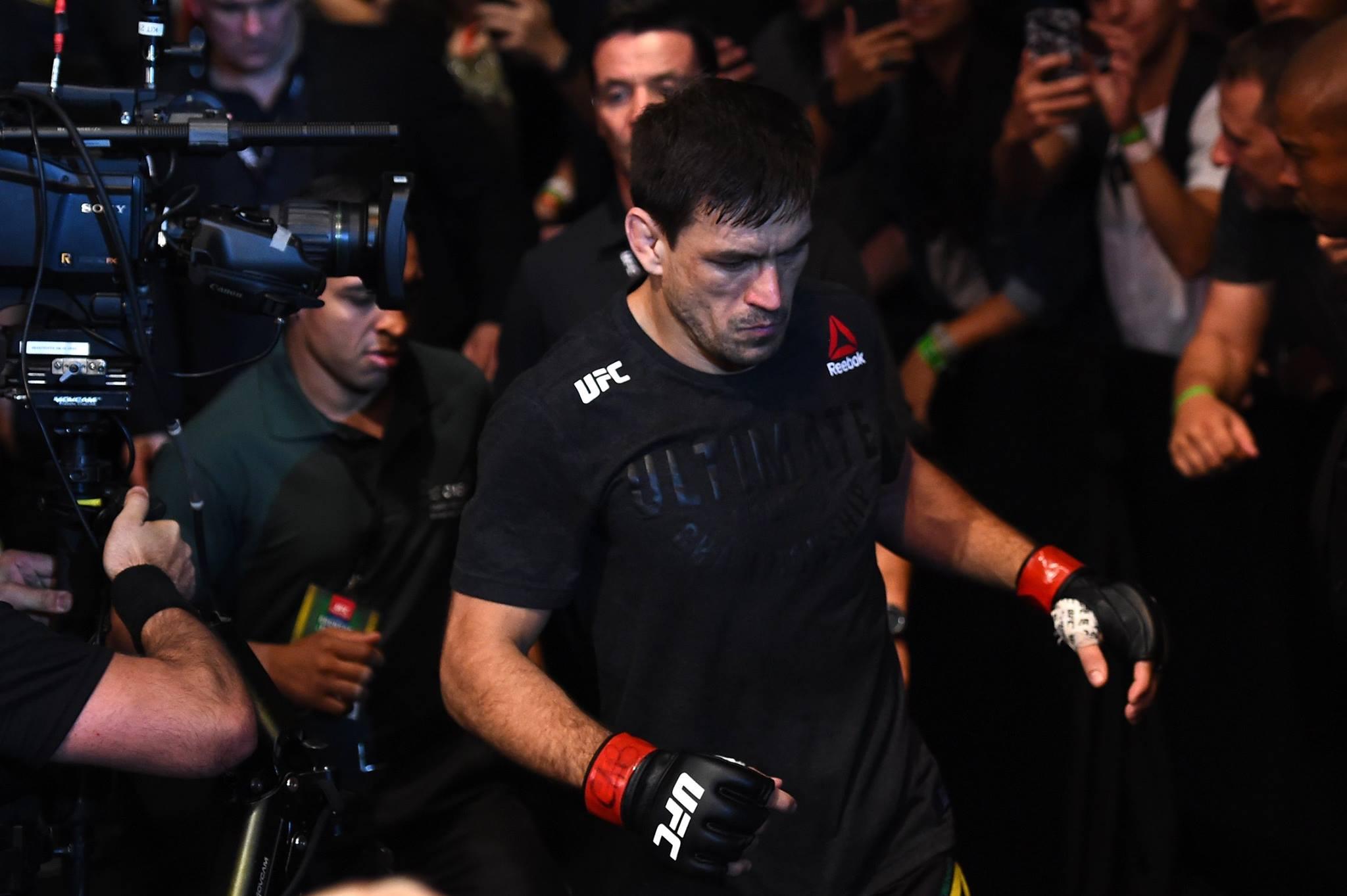 D. Maia volta ao octógono no UFC Chile (Foto; Reprodução Facebook UFC)