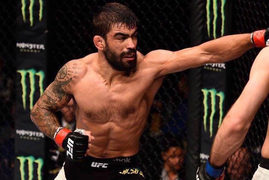 Capoeira (foto) encara Strickland no UFC 224. Foto: Reprodução / Facebook @ufc