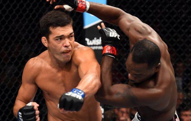 Lyoto foi nocauteado por Brunson na luta principal (Foto:Reprodução/Facebook UFC)