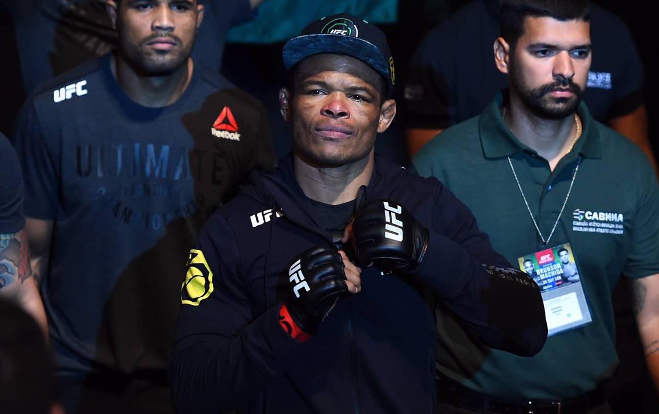 Massaranduba volta ao octógono no UFC SP. Foto: Reprodução / Facebook UFC