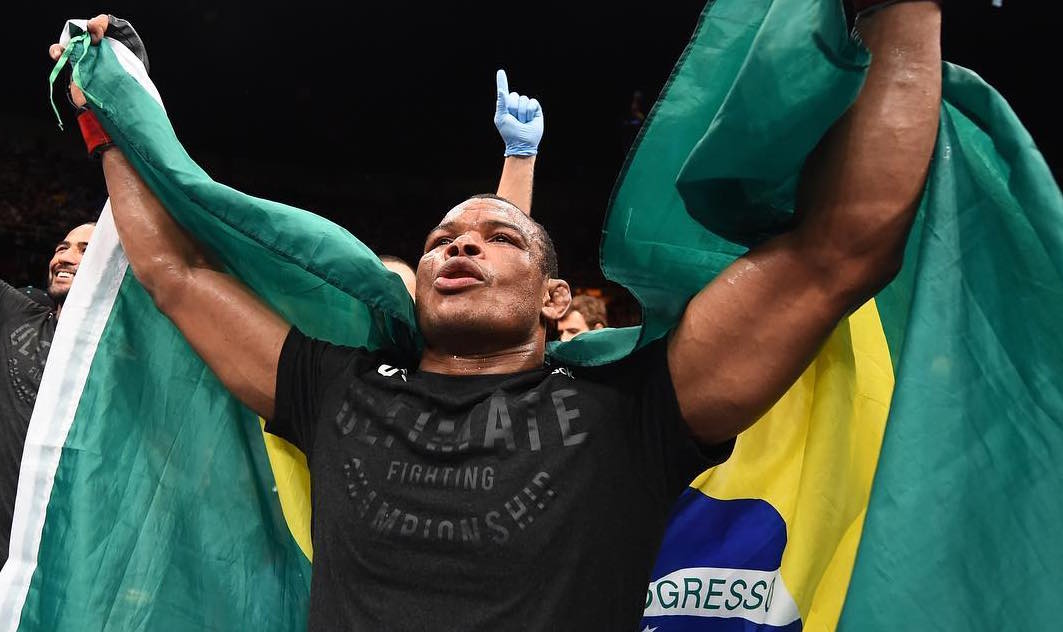 F. Massaranduba (foto) derrotou B. Green no UFC São Paulo. Foto: Reprodução/InstagramUFC