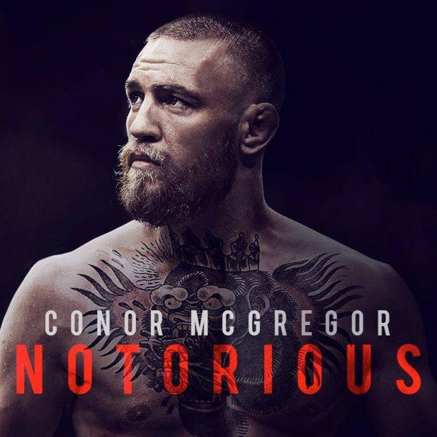 Pôster oficial do filme de McGregor (Foto: Reprodução Facebook Conor McGregor: Notorious)