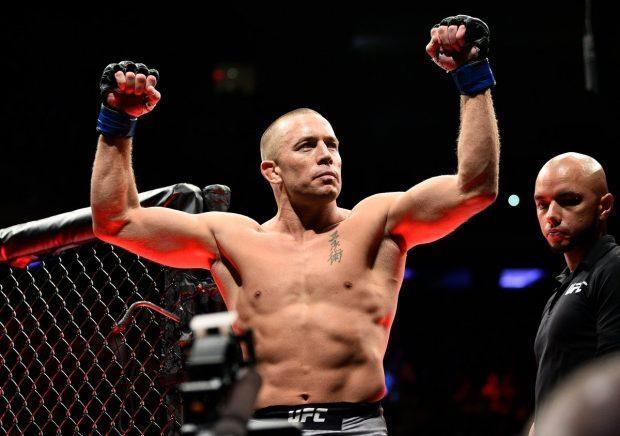 GSP é campeão de novo (Foto: Reprodução Facebook UFC)