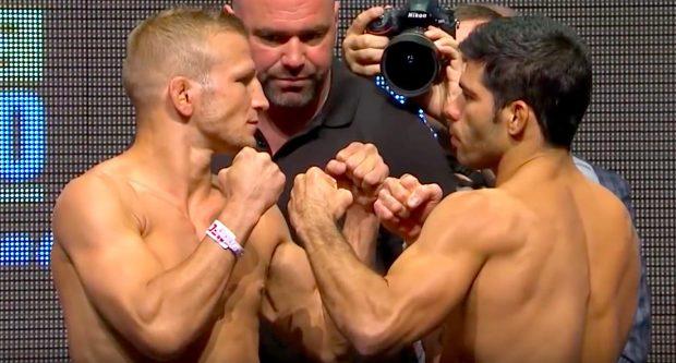 Assunção e TJ já se enfrentaram duas vezes (Foto:Reprodução/Youtube UFC)
