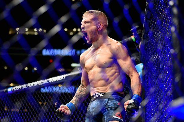 Dillashaw é o atual campeão peso galo do UFC (Foto: Reprodução Twitter UFCEurope)