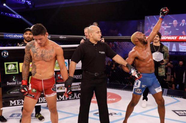 Patolino venceu duas lutas pós-UFC (Foto:Reprodução/Facebook WilliamPatolino)