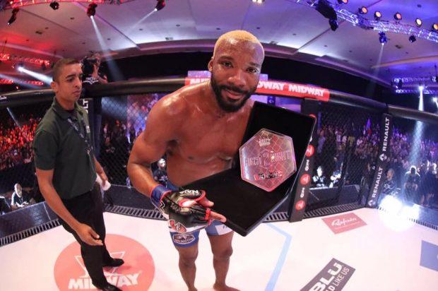 Patolino garante não ter ansiedade em voltar ao UFC (Foto:Reprodução/Facebook WilliamPatolino)