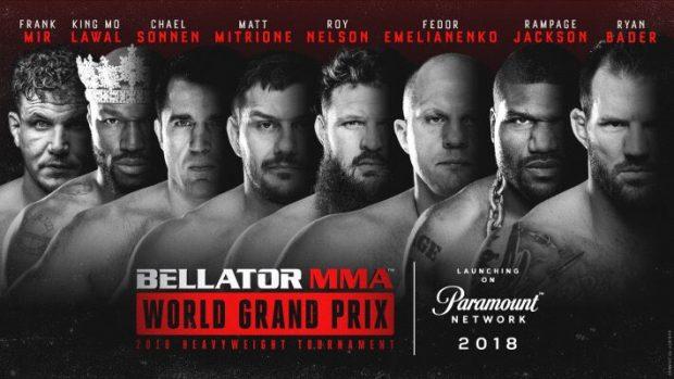 Bellator organiza GP para definir campeão pesado (Foto: Reprodução Twitter BellatorMMA)