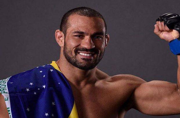 D. Ramos salvou noite brasileira no card preliminar do UFC Fresno. Foto: Reprodução / Instagram UFC Brasil
