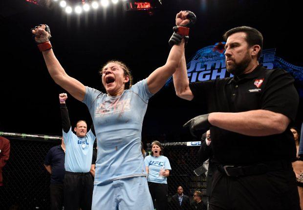 N. Montaño é a nova campeã do UFC. Foto: Reprodução / Facebook UFC
