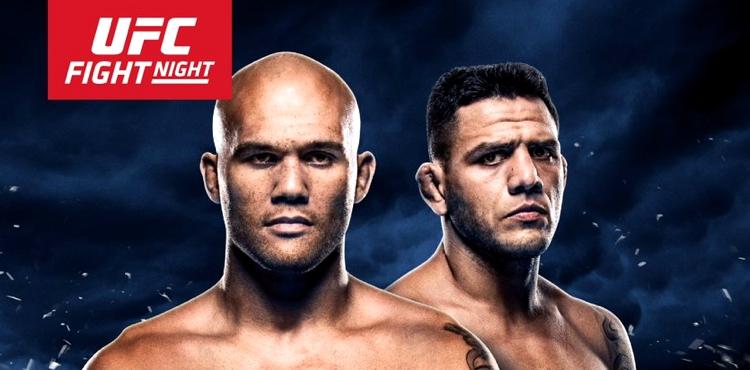 Dos Anjos (dir) pega Lawler valendo chance pelo título (Foto: Divulgação UFC Brasil)
