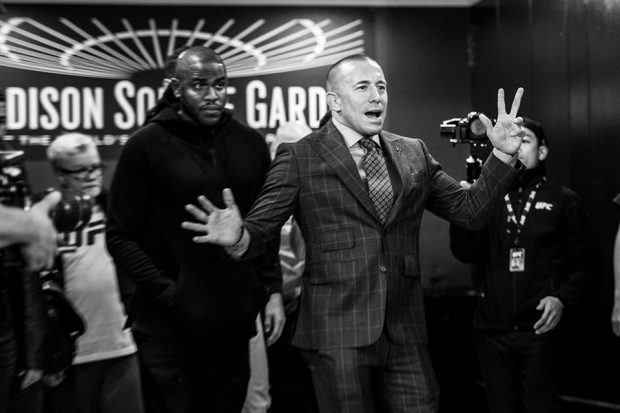 St. Pierre pode deixar o MMA de vez (Foto: Reprodução Facebook ufc)