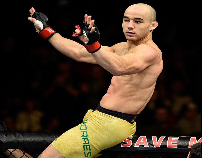 M. Moraes venceu no UFC Utica. Foto: Reprodução / Instagram UFC