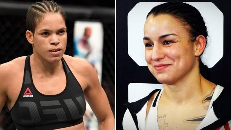 Amanda x Pennington será a luta principal do UFC 224. Foto: Montagem SL / MMA Press