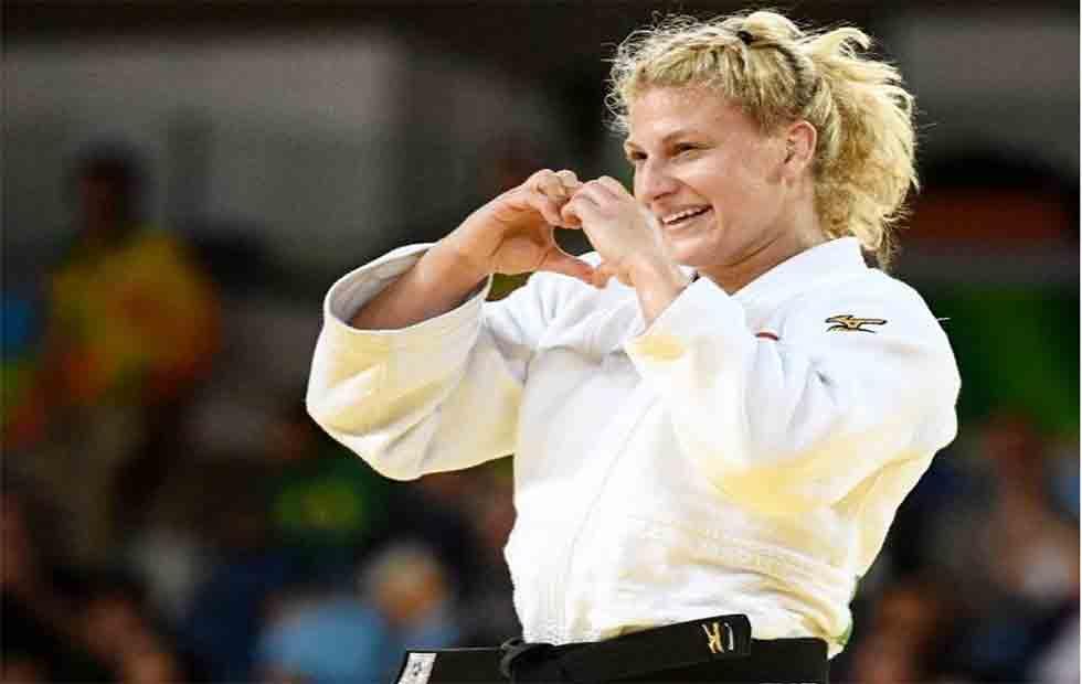 Kayla anuncia primeira luta no MMA. Foto: Reprodução / Instagram @judokayla