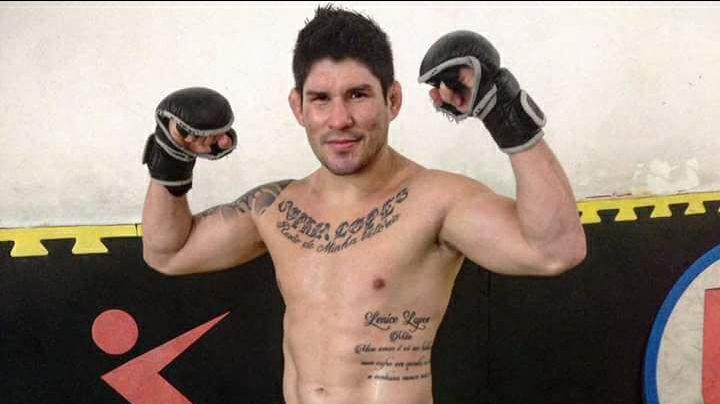 D. Lopes teve o contrato rescindido com o UFC em julho de 2016. (Foto: Reprodução/Facebook DilenoLopes)