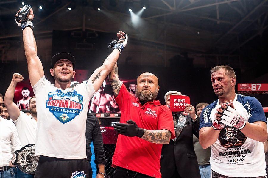 N. Krylov deixou o UFC em 2016 após derrota para M. Cirkunov. Foto: Facebook/Fight Nights Global