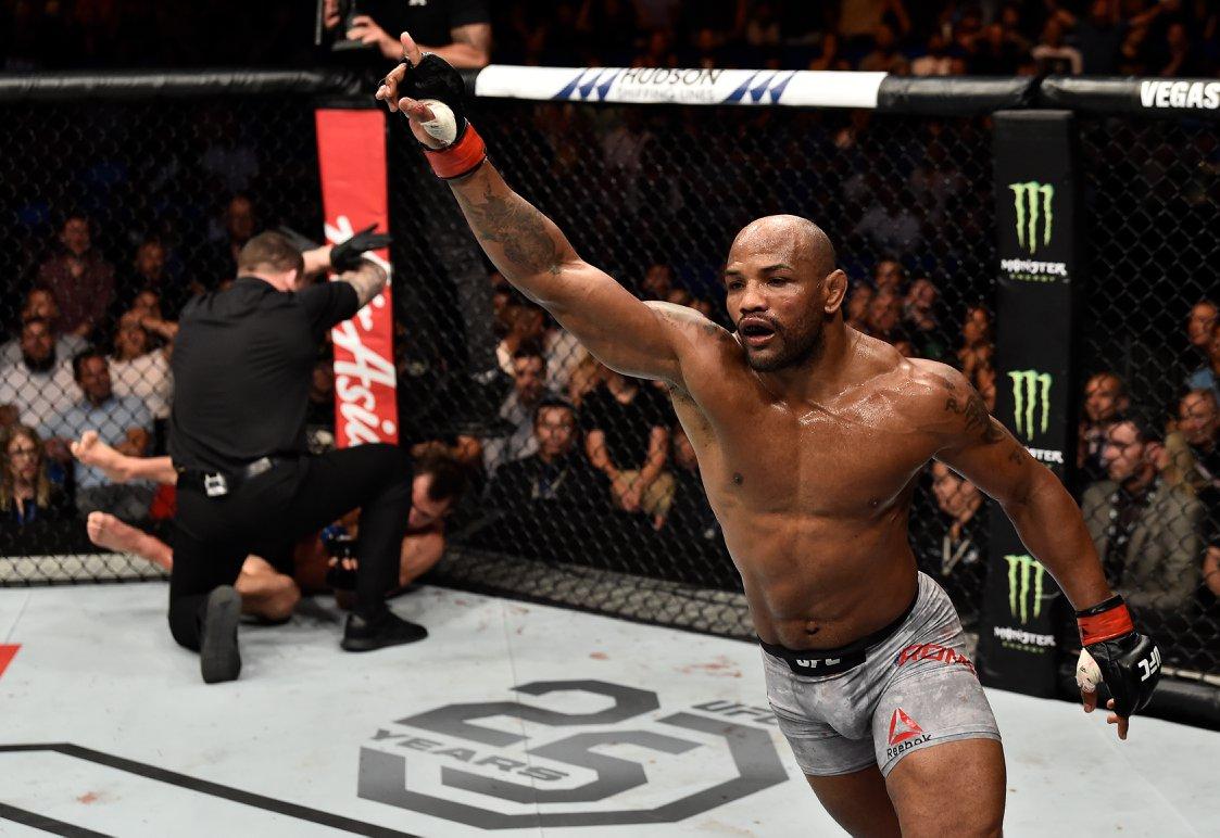 Y. Romero vive um momento irregular na organização. Foto: Reprodução/Facebook UFC
