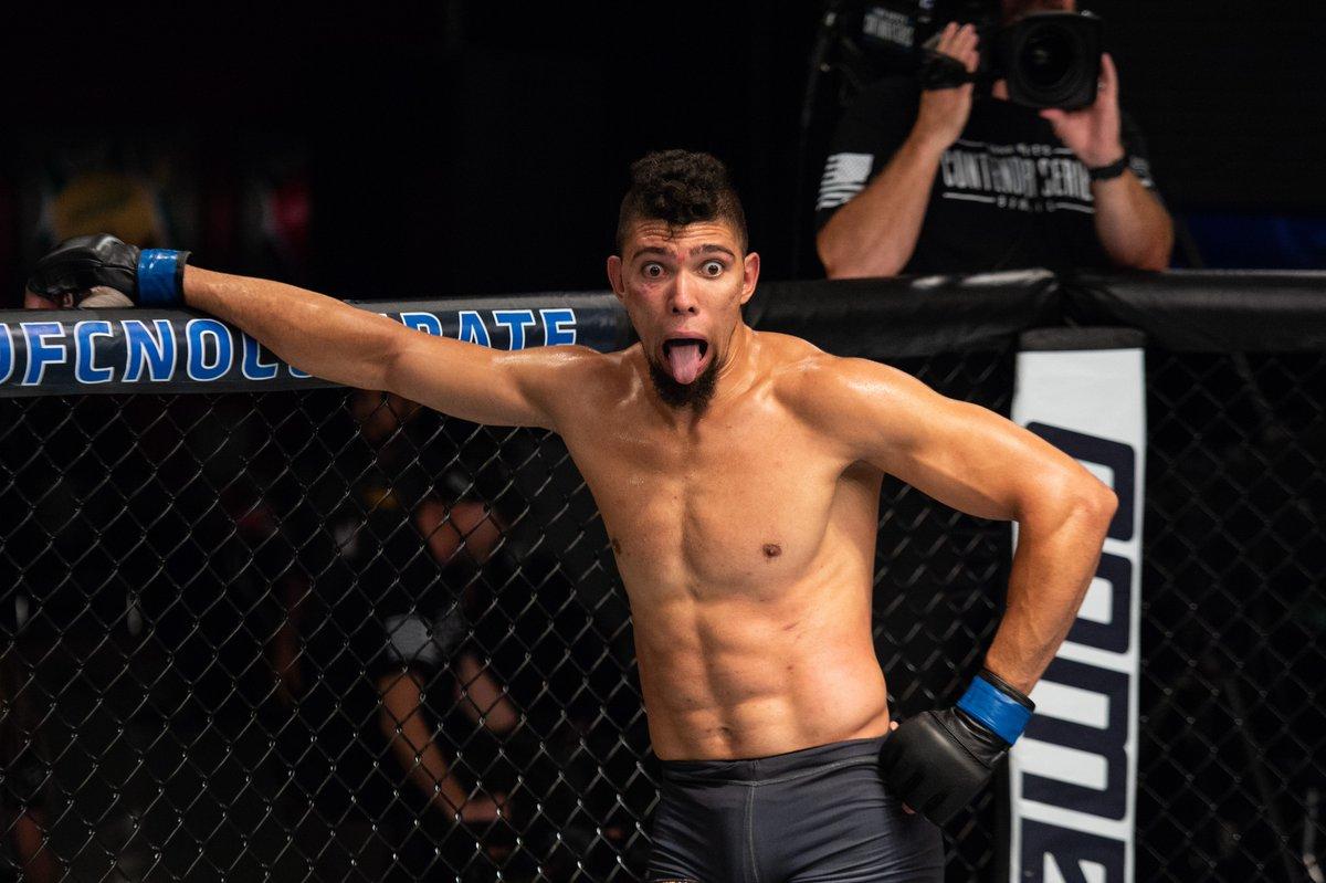 J. Walker (foto) vence na estreia pelo UFC. Foto: Reprodução / Twitter ufcbrasil