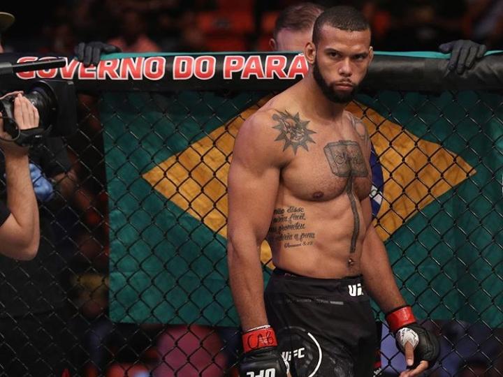T. Marreta ainda quer se testar com um lutador meio-pesado. Foto: Reprodução/Instagram @ufc