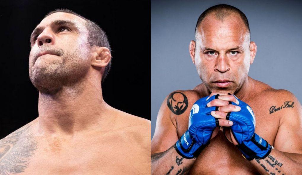 W. Silva (dir.) desafia V. Belfort (esq.) para boxe sem luvas. Foto: Reprodução/Facebook/Montagem SL