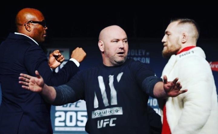 O confronto entre Anderson e Conor não deve ocorrer no UFC. Foto: Reprodução/Instagram @spiderandersonsilva