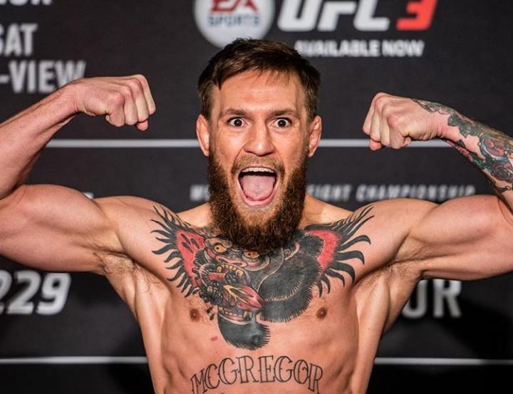 C. McGregor bateu os 70,1kg e confirmou combate. Foto: Reprodução/Instagram @ufc
