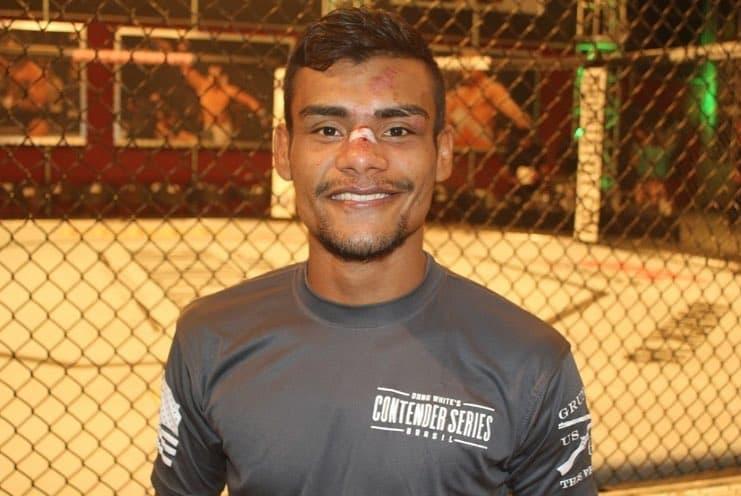 R. Paiva foi contratado pelo UFC após participar do Contender Series Brasil. Foto: Reprodução/Instagram @raullianpaivamma