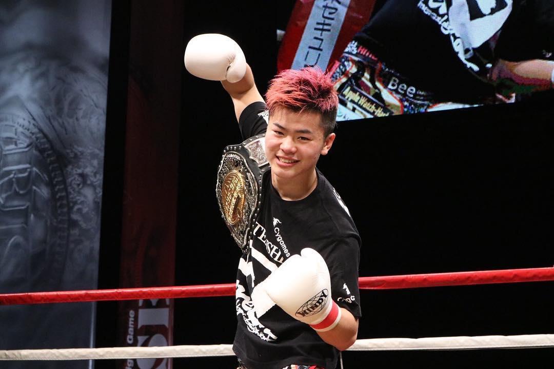 T. Nasukawa está invicto com 27 vitórias em 27 lutas. Foto: Reprodução/Instagram @ tenshin.nasukawa