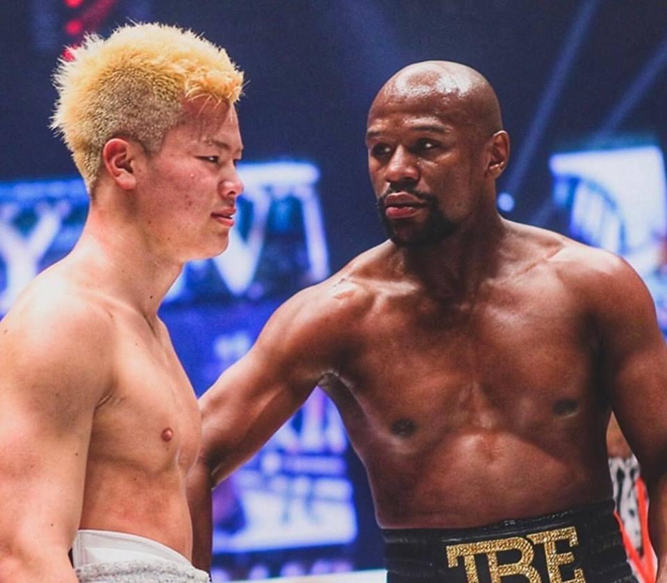 T. nasukawa tem quatro lutas como profissional no Rizin. Foto: Reprodução/Instagram @tenshin.nasukawa