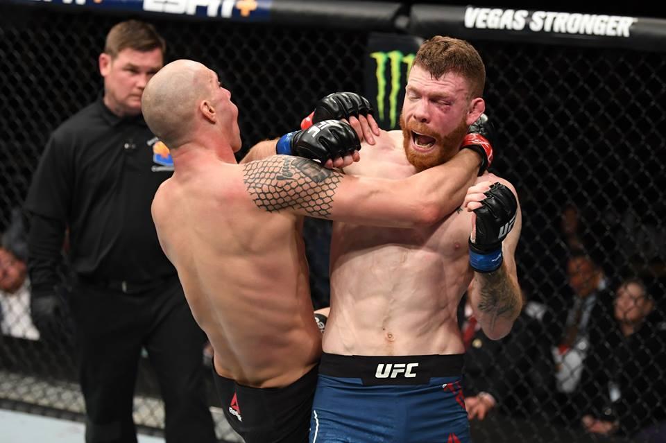 P. Felder soma quatro vitórias nas última cinco lutas no UFC. Foto: Reprodução/Facebook ufcbrasil