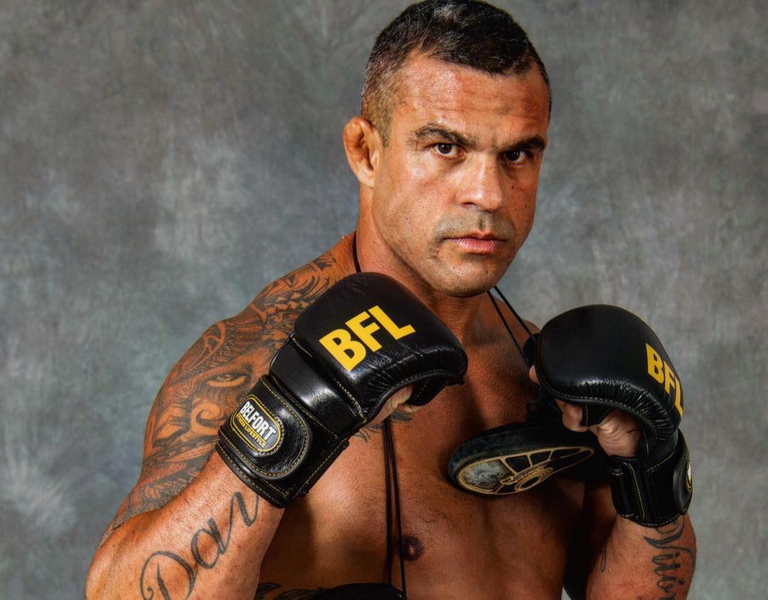 V. Belfort tem 22 anos de carreira no MMA. Foto: Reprodução/Instagram @vitorbelfort