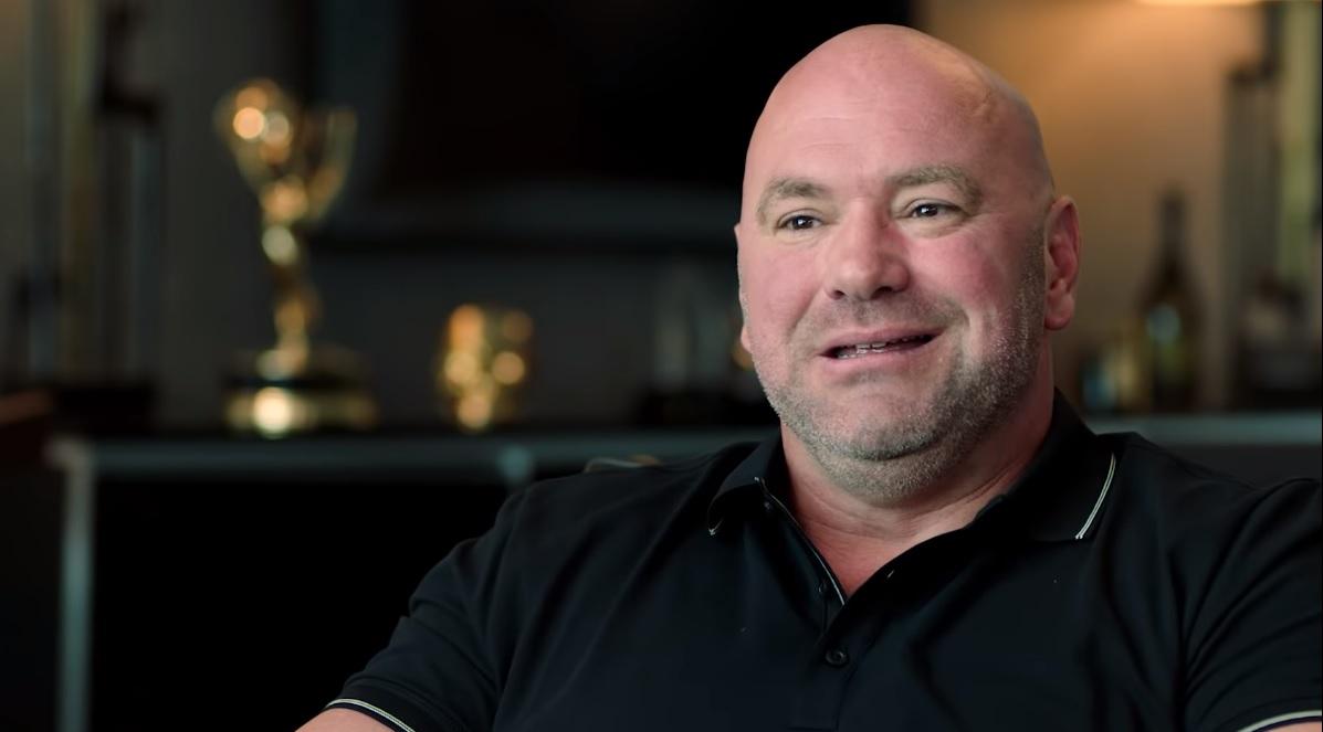D. White em entrevista. Foto: Reprodução/YouTube UFC