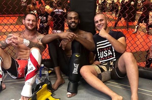 F. Lester (esq.) acusa J. Jones de calote após UFC 239. Foto: Reprodução/Instagram thefranklester