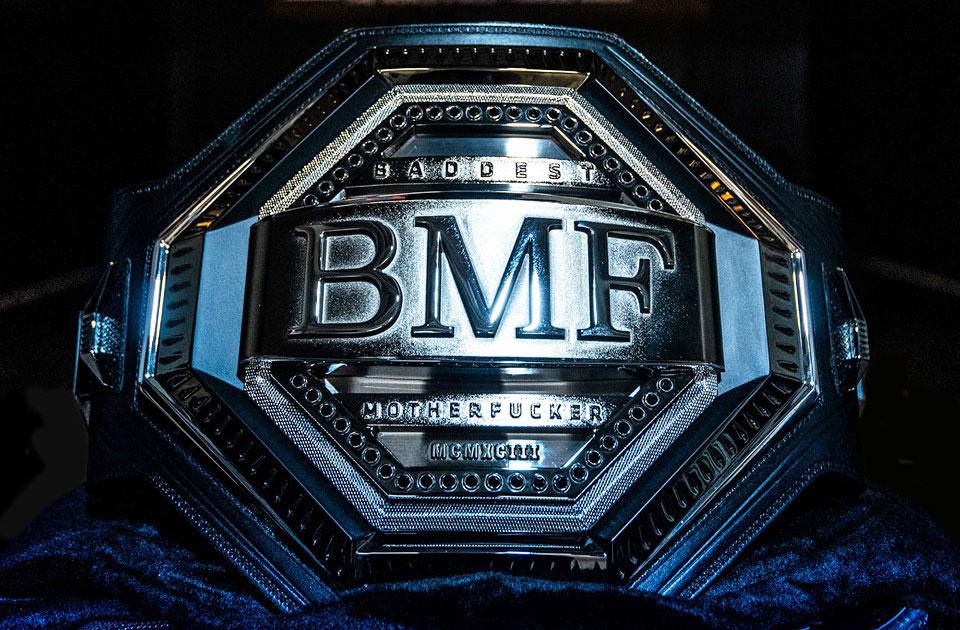 Cinturão BFM. Foto: Reprodução / Facebook @ufc